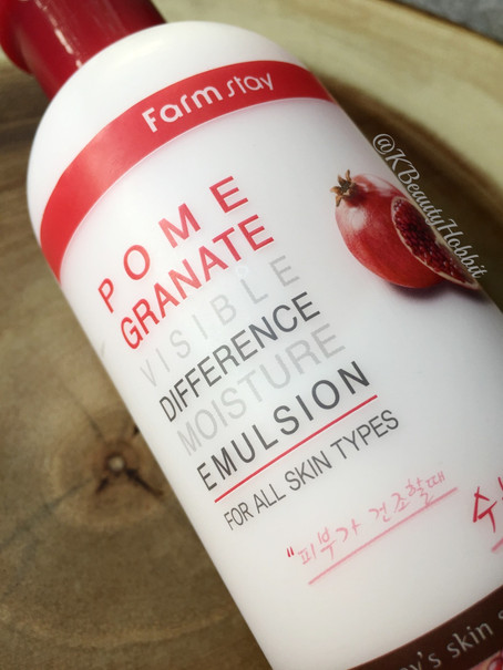 Farm Stay Visible Difference Moisture Emulsion Pomegranate Review