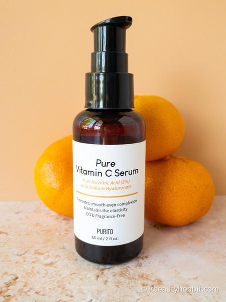 Purito Pure Vitamin C Serum Review (newest version)