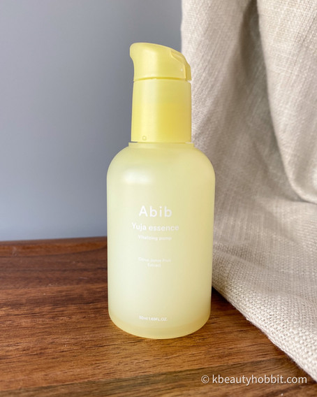 Abib Yuja Essence Vitalizing Pump Review