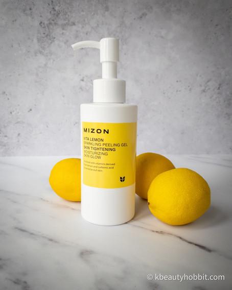 Mizon Vita Lemon Sparkling Peeling Gel Review
