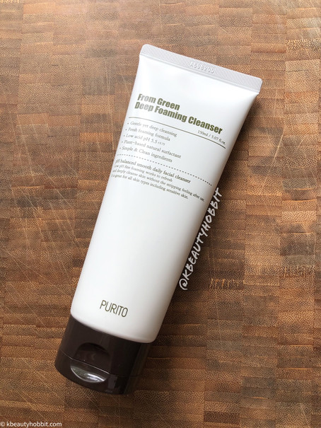 Purito From Green Deep Foaming Cleanser Review