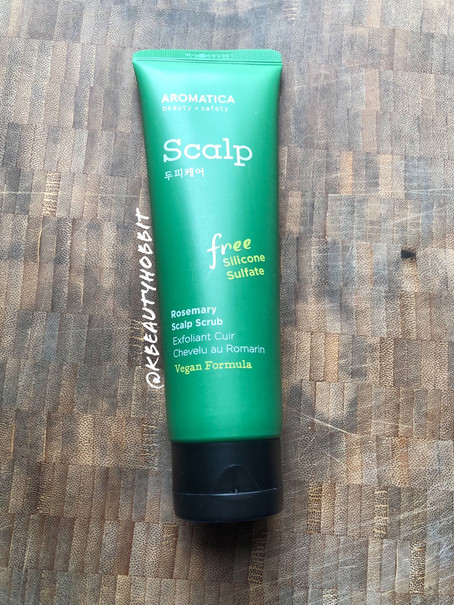 Aromatica Rosemary Scalp Scrub Review