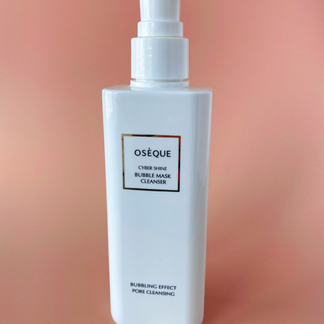 Oseque Cyber Shine Bubble Mask Cleanser Review