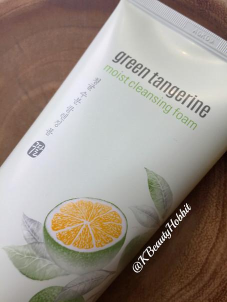 Goodal Green Tangerine Moist Cleansing Foam Review