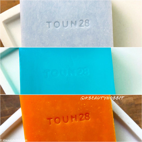 Toun28 Soaps Review - S5, S22, S23 for face and body