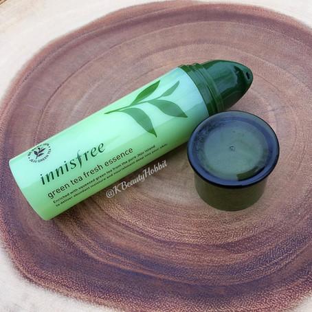 Innisfree Green Tea Fresh Essence Review