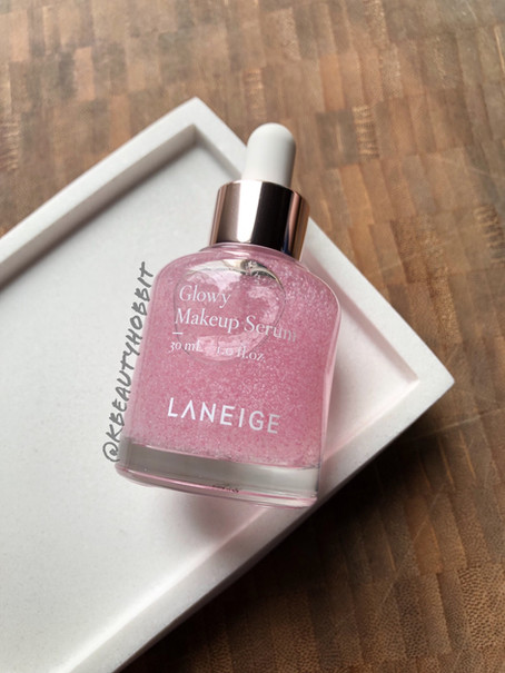 Laneige Glowy Makeup Serum Review