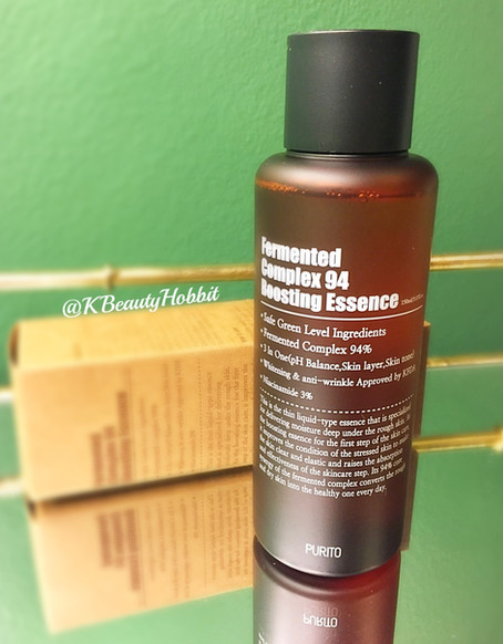 Purito Fermented Complex 94 Boosting Essence Review