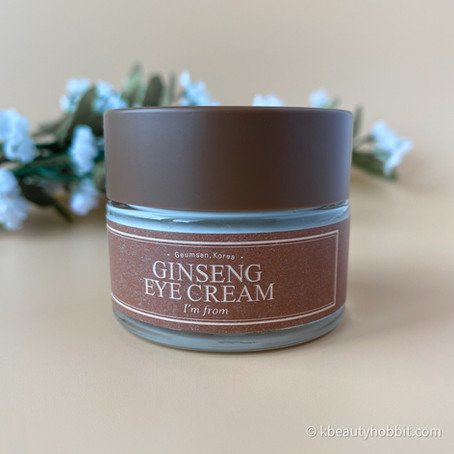 I'm From Ginseng Eye Cream Review