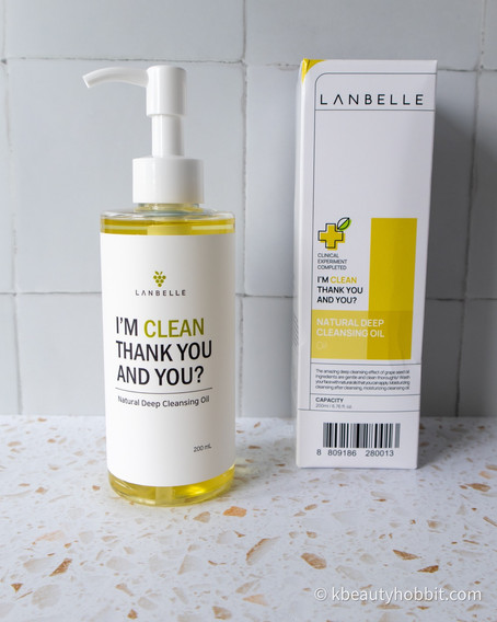 Lanbelle Deep Cleansing Oil Review