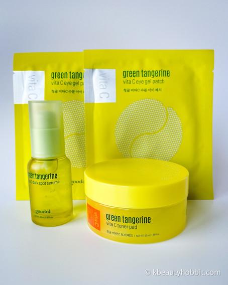 Goodal Green Tangerine Vitamin C Dark Spot Facial Serum Review
