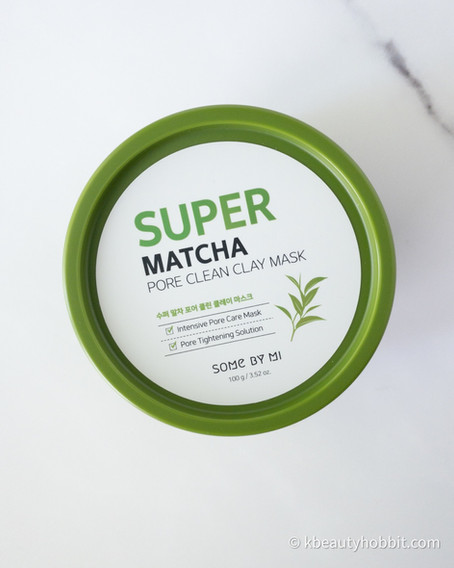 SOME BY MI Super Matcha Pore Clean Clay Mask Review