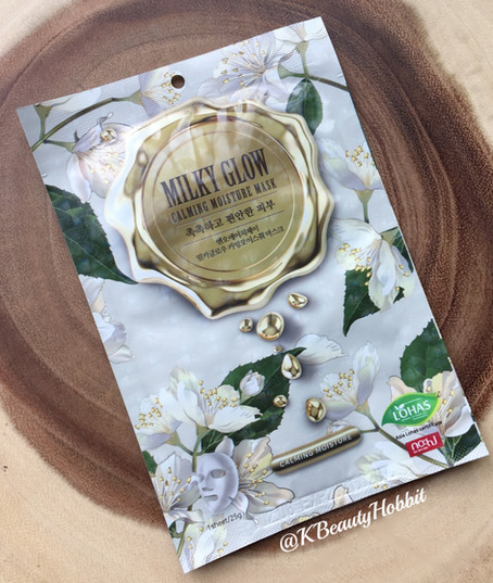 NOHJ Milky Glow - Calming Moisture Mask Review