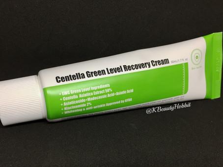 Purito Centella Green Level Recovery Cream Review