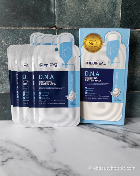 Mediheal D.N.A Hydrating Protein Mask Review