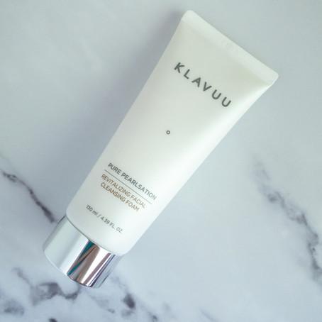 KLAVUU Pearl Pearlsation Revitalizing Facial Cleansing Foam Review