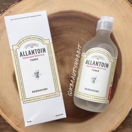 Dermatory Allantoin Hypoallergenic Moisturizing Toner Review