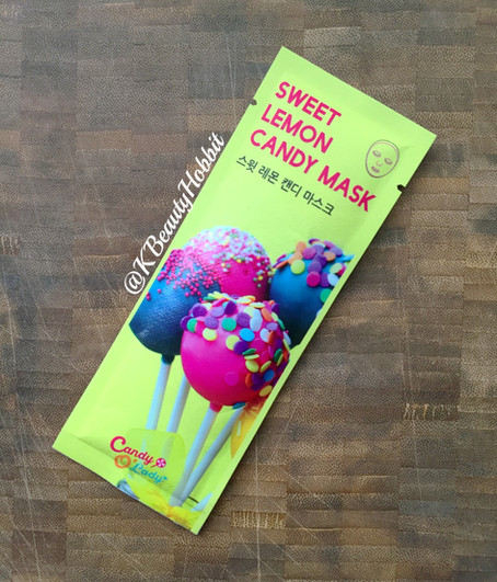 Candy O'Lady Sweet Lemon Candy Mask Review