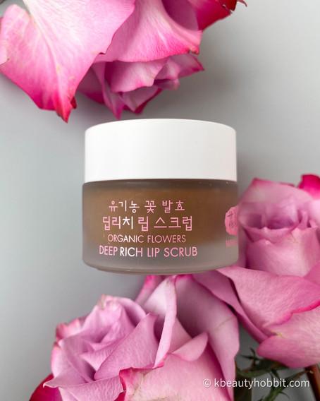 Whamisa Organic Flowers Deep Rich Lip Scrub Review