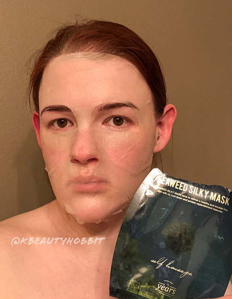 23 Years Old Seaweed Silky Mask Review