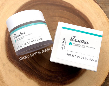 MISSHA Near Skin Dustless Bubble Pack To Foam Review
