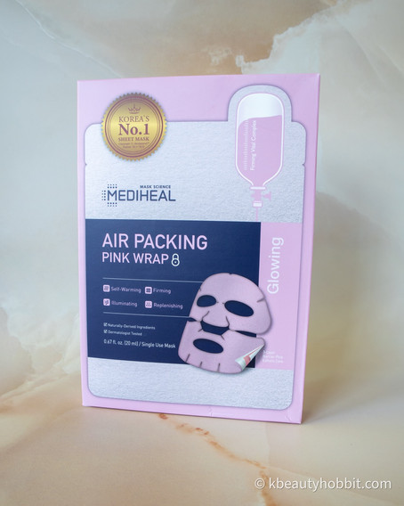 Mediheal Air Packing Pink Wrap Mask Review