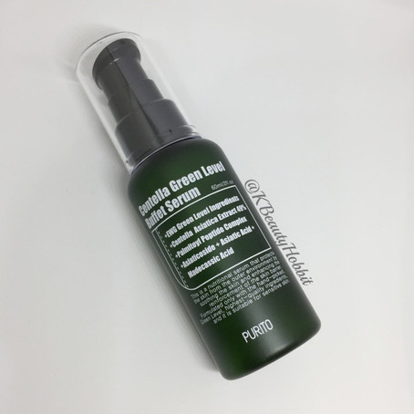 Purito Centella Green Level Buffet Serum Review
