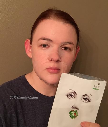 Oka Recipe Buckle Up The Pore Sheet Mask Review