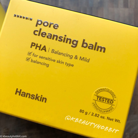 Hanskin PHA Pore Cleansing Balm Review