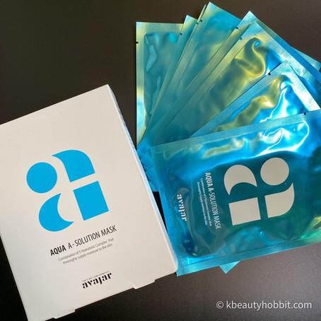 Avajar Aqua A-Solution Mask Review