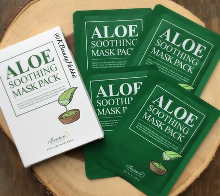 Benton Aloe Soothing Mask Pack Review