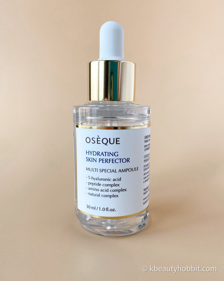 Oseque Hydrating Skin Perfector Multi Special Ampoule Review