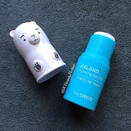 The Saem Iceland Hydrating Eye Stick Review