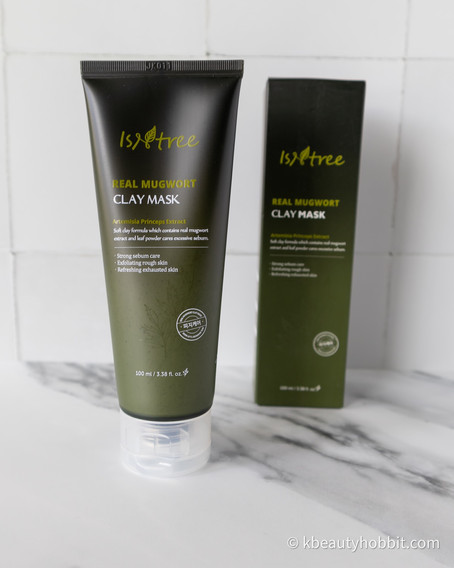Isntree Real Mugwort Clay Mask Review