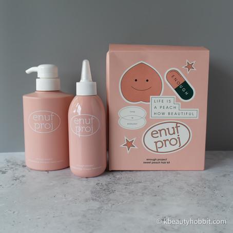 ENOUGH PROJECT Sweet Peach pH Balancing Shampoo and Vinegar Treatment Review