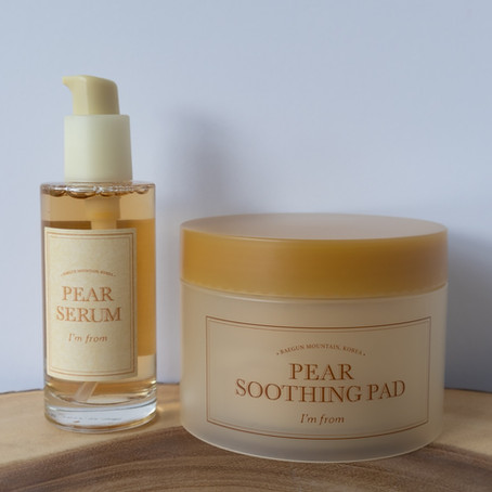 I'm From Pear Soothing Pad & Serum Review