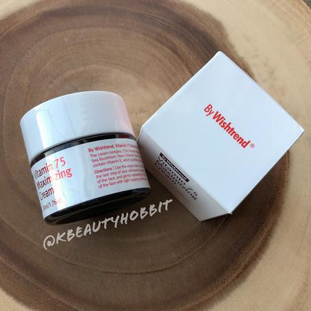 By Wishtrend Vitamin 75 Maximizing Cream Review