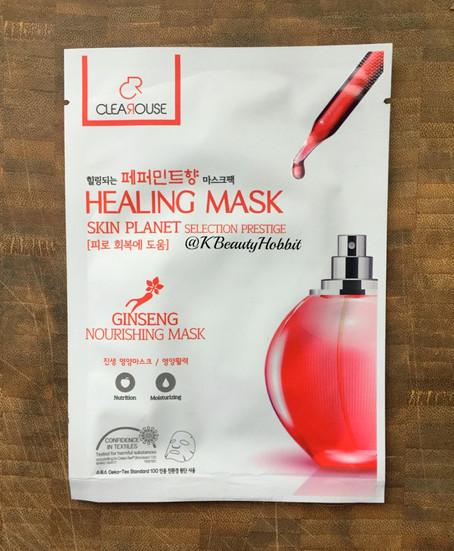Clearouse Healing Ginseng Nourishing Mask Review