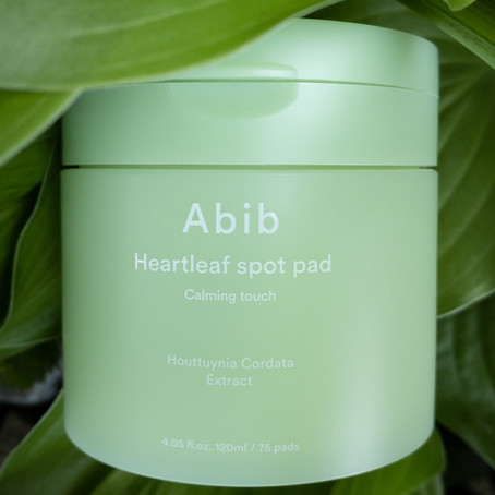 Abib Heartleaf Spot Pad Calming Touch Review