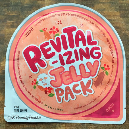 Yadah Revitalizing Jelly Pack Review