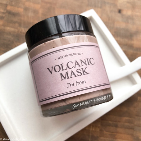 I'm From Volcanic Clay Mask Review