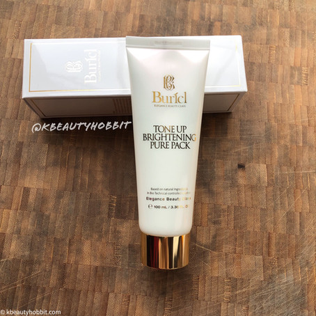 Buricl Tone Up Brightening Pure Pack Review