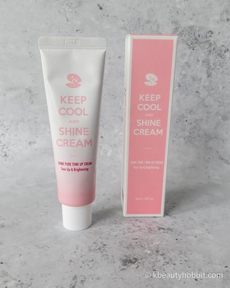 Keep Cool Shine Pure Tone Up Cream Review