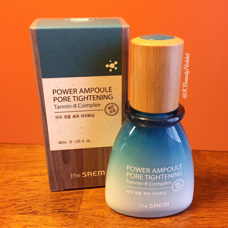 The Saem Power Ampoule Pore Tightening Review