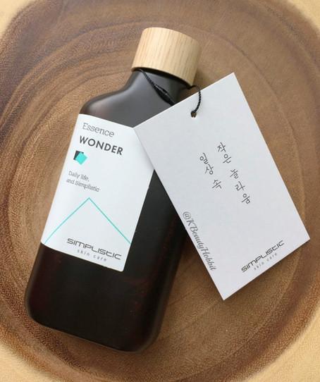 Simplistic Skincare WONDER Essence Review