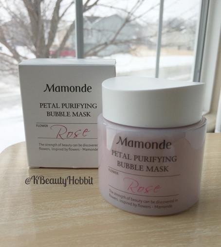 Mamonde Petal Purifying Mask Review