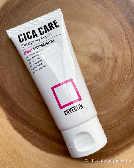 Rovectin Cica Care Sleeping Pack Review