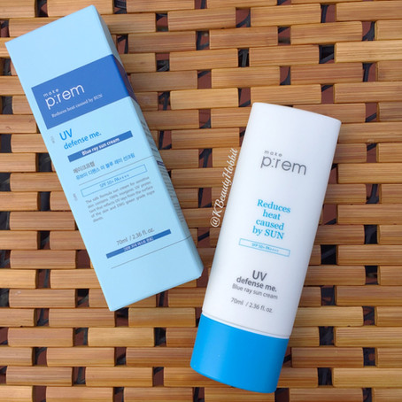 Make P:rem UV Defense Me Blue Ray Sun Cream Review