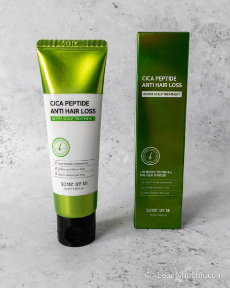 SOME BY MI Cica Peptide Anti Hair Loss Derma Scalp Treatment Review