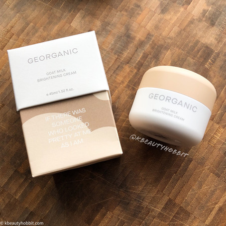 Georganic Goat Milk Brightening Cream Review
